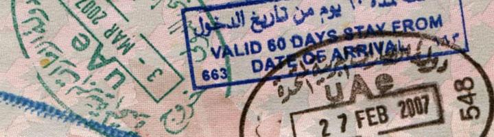 uae visa sample