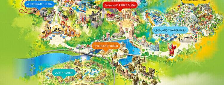 dubai parks resorts landscape