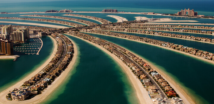 new island in dubai