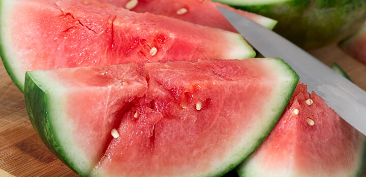 stay hydrated in summer with watermelon