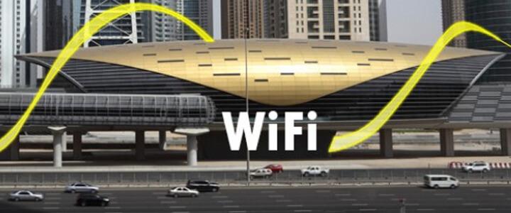free wi-fi in dubai metro