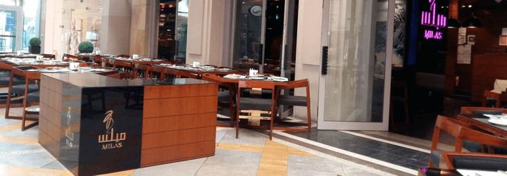 milas restaurant dubai mall