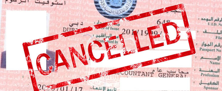 Dubai Residence Visa Cancellation