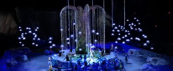 Avatar Inspired Cirque du Soleil Show In Dubai